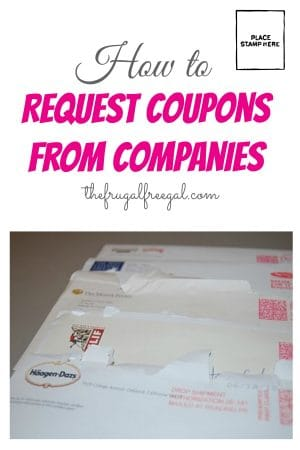 How to Request Coupons from Companies