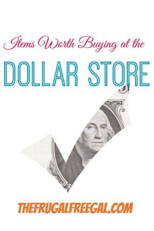 items worth buying at the dollar store