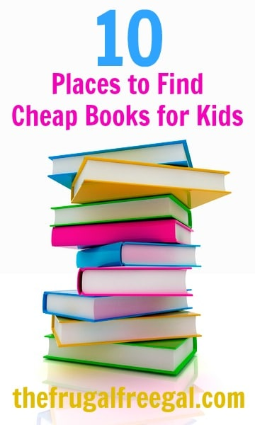 cheap books for kids