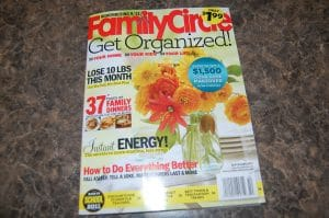 September 2011 Issue of Family Circle