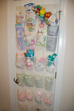 Over the door shoe organizers the frugal free gal - Baby shoe organizer ideas ...