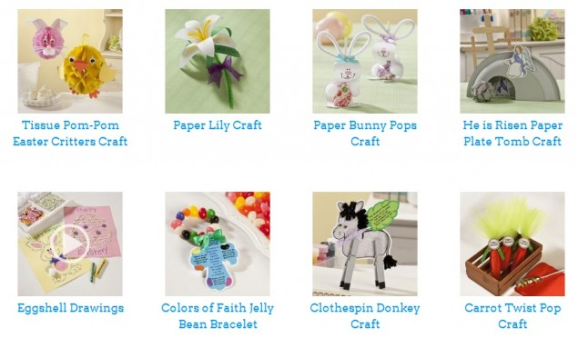 Free Easter Crafts Recipes and