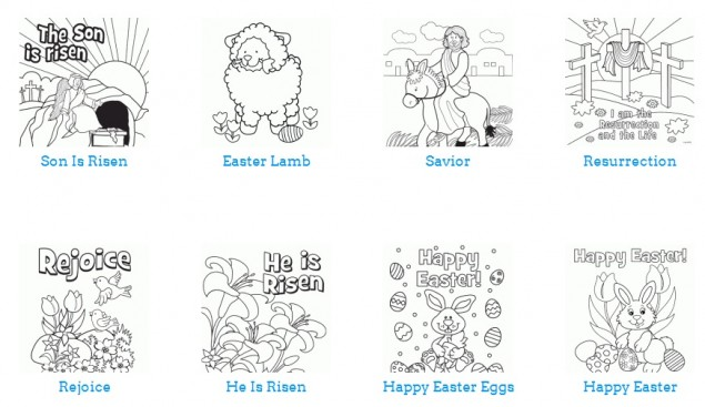 Free Easter Crafts Recipes and Coloring Pages The Frugal Free Gal