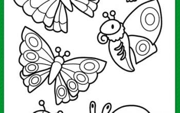 Free Printable Spring Coloring & Activity Pages