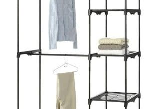 Whitmor Double Rod Closet only $42.49 Shipped