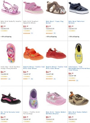 Baby and Kids Shoes on Clearance at Walmart as Low as $2 - The ...