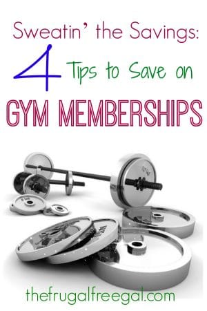 save on gym memberships