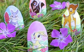 FREE Printable Bambi Easter Egg Wrappers!