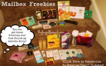 Mailbox Freebies: Check Out What I Received in My Mailbox (and How You Can Get Them, Too!)