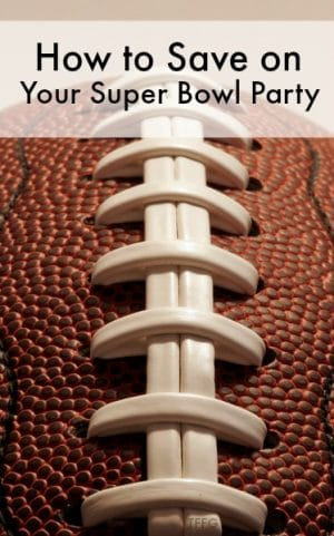 how to save on your super bowl party