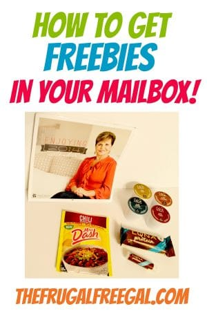 how to get freebies in your mailbox