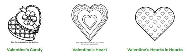 Free Valentine's Day Printable Coloring Pages from Crayola ...