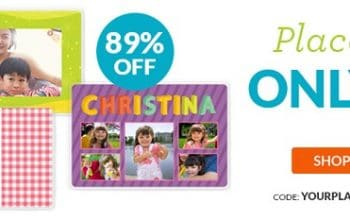 Custom Photo Placemat Only $6.99 Shipped + 40 FREE 4×6 Photo Prints!