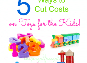 Toys for Less: 5 Ways to Cut Costs on Toys for the Kids!