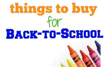 Top 10 Things to Buy for Back-to-School