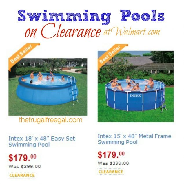 Walmart: Swimming Pools on Clearance for $179 (Reg. $399) | The ...