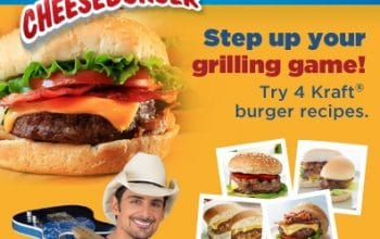 Enter for a Chance to Win Brad Paisley Concert Tickets! #KraftFoodsCheeseburger #BradPaisley