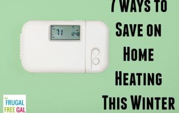 7 Ways to Save on Home Heating This Winter