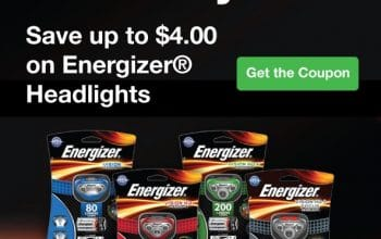 Save up to $4 on Energizer Headlights (Great for Father's Day!)