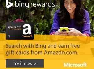 Bing Rewards: Earn FREE Gift Cards + More Just for Searching the Web!