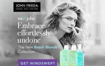 John Frieda Beach Blonde Collection at Target