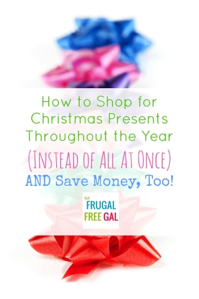 how to shop for christmas presents early