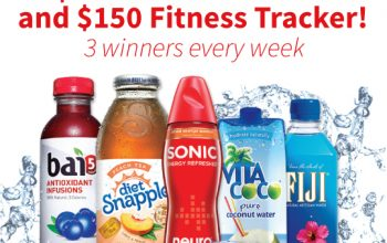 Save $.50 on Snapple (w/purchase) at Walmart + Earn $1 w/Ibotta + Giveaway!