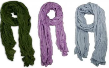 Amazon: Long Crinkle Scarves Only $5.99 Shipped!