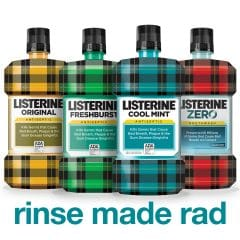 Listerine Rinse Made Rad