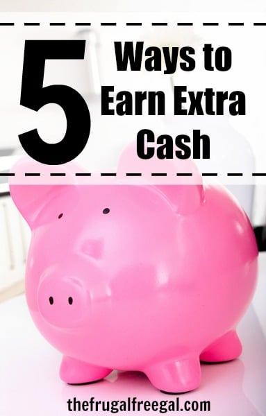 Five Ways to Earn Extra Cash