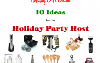 Top 10 Gift Ideas for the Holiday Party Host
