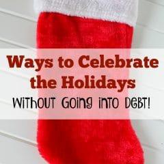 ways to celebrate the holidays