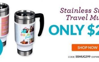 Custom Photo Travel Mug Only $8.98 Shipped! (reg $24.98) Ends 3/26