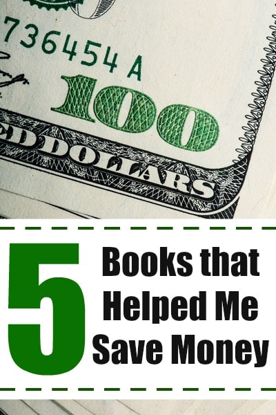 5 books that helped me save money