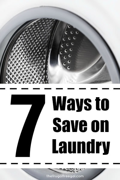 ways to save on laundry