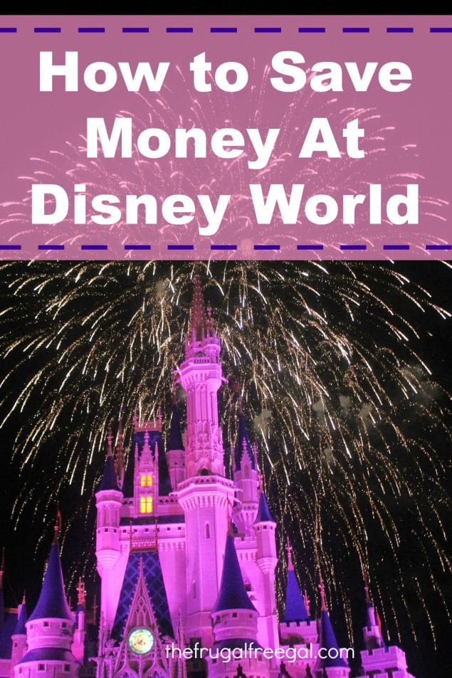 Save Money at Disney World