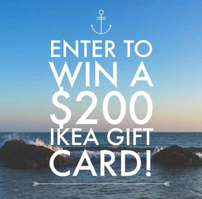 giveaway 200 ikea gift card the frugal free gal. Black Bedroom Furniture Sets. Home Design Ideas
