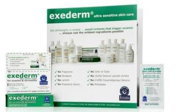 FREE Exederm Ultra Sensitive Skin Care Sample!