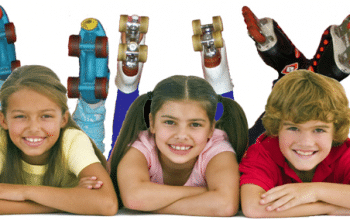 FREE Roller Skating for Kids All Summer Long!