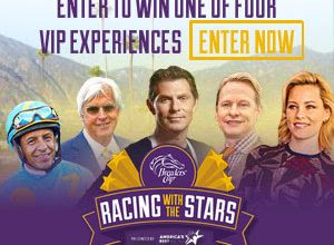 Breeders' Cup World-Class Racing Experience Sweepstakes (ends 10/9)