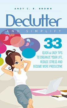 declutter and simplify