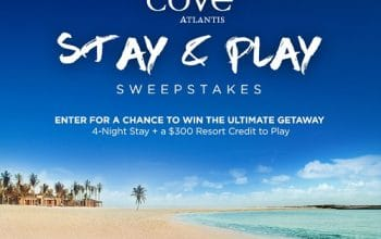 The Cove Stay & Play Sweepstakes (ends 10/17)