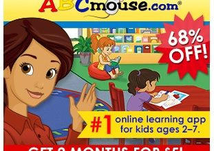 ABCmouse.com: Pay $5 for 2 Months (or FREE 30 Day Trial) For Kids Ages 2-8!