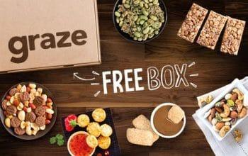 Graze Snack Sampler Box only $1 Shipped!