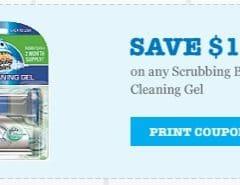 scrubbing bubbles cleaning gel