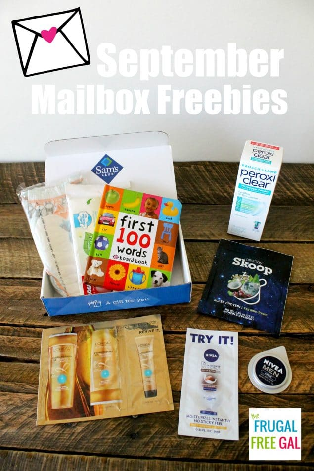 september mailbox freebies