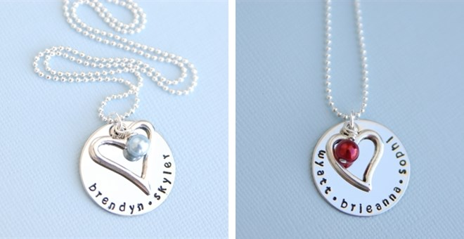 Mothers Love Personalized Necklace