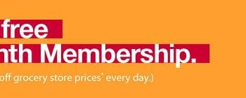 FREE 90-Day Membership to BJ's Wholesale Club!