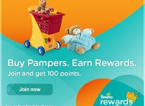 15 FREE Pampers Rewards Points!