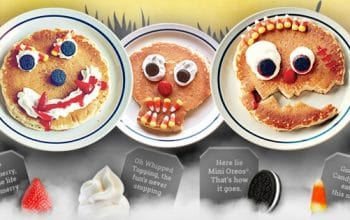 IHOP: FREE Scary Face Pancakes for Kids on Halloween!